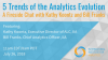 5 Trends of the Analytics Evolution