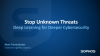 Stop Unknown Threats: Deep Learning for Deeper Cybersecurity