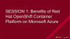 Benefits of Red Hat OpenShift Container Platform on Microsoft Azure