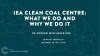 IEA Clean Coal Centre: What we do and why we do it