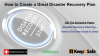 Don't Wait for Disaster to Strike! How to Create a Great Disaster Recovery Plan