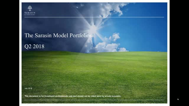 Sarasin Model Portfolios - Q2 2018 update