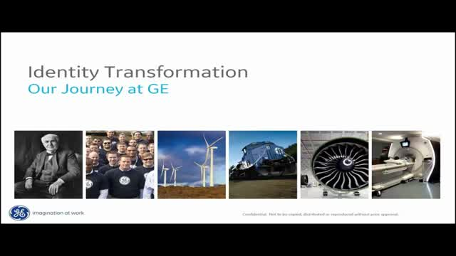 How GE Built a Scaleable Identity Governance Program