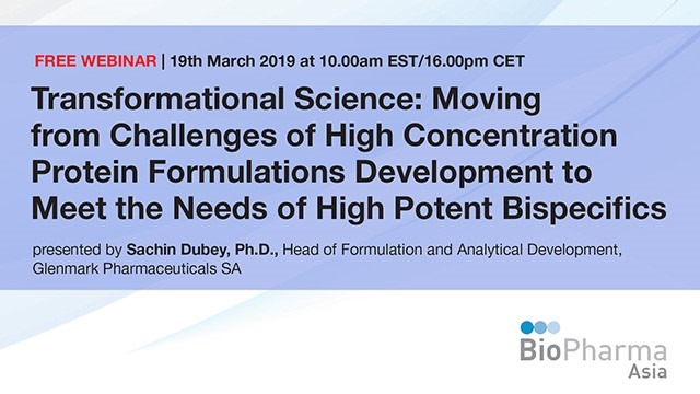 Transformational Science: Moving from Challenges of High Concentration Protein..
