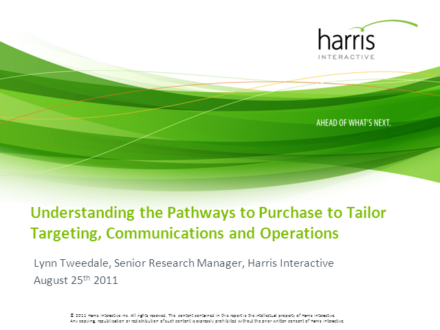 Pathways to Purchase