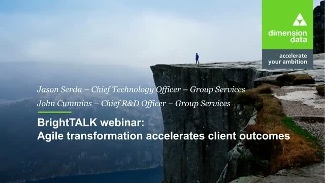Agile Transformation Accelerates Client Outcomes