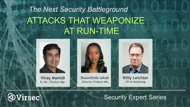 Defending Your Business from Attacks that Weaponize at Runtime (WRT)
