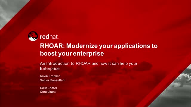 Moderninze your applications to boost your enterprise