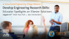 Develop Engineering Research Skills: Educator Spotlights on Elsevier Solutions