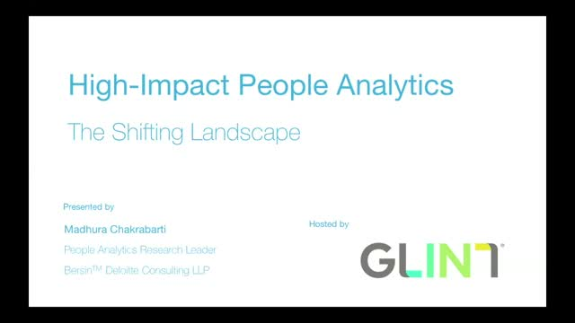 High-Impact People Analytics: The Shifting Landscape