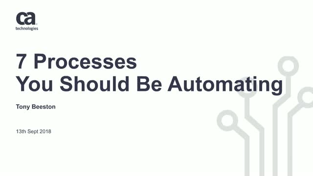 Automate to Innovate: 7 Processes You Should Be Automating Now