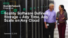 Scality Software Defined Storage – Any Time, Any Scale on Any Cloud