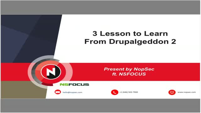 3 Lessons to Learn from Drupalgeddon 2