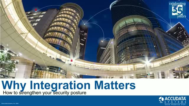 Why Integration Matters: How to Strengthen Your Security Posture