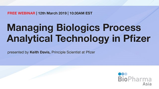 Managing Biologics Process Analytical Technology in Pfizer