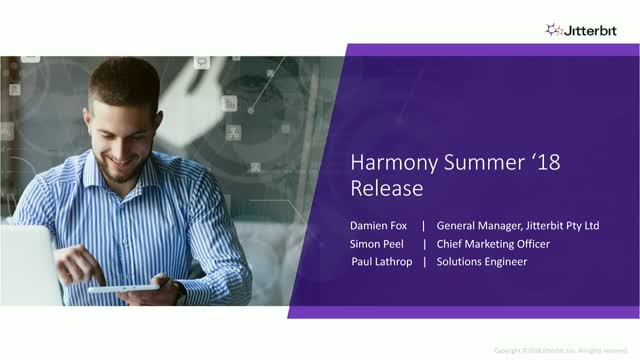 Harmony 9.0 Release for the ANZ Region