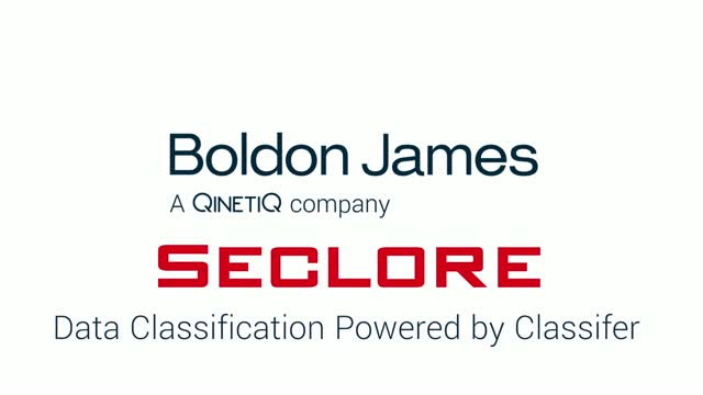 Seclore Data Classification powered by Boldon James
