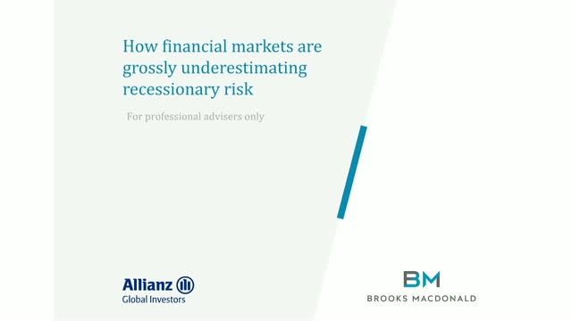 How financial markets are grossly underestimating recessionary risk