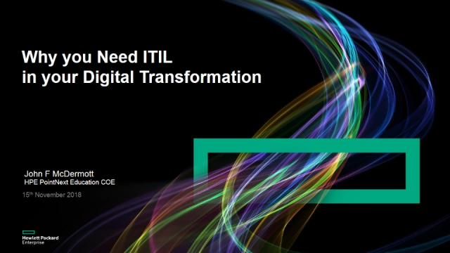 Why You Need ITIL in your Digital Transformation Strategy