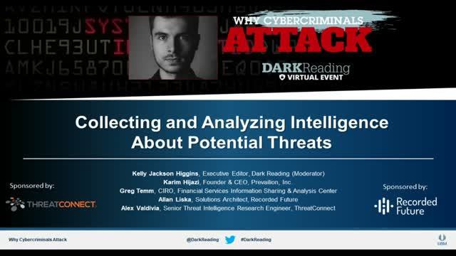 Collecting and Analyzing Intelligence About Potential Threats