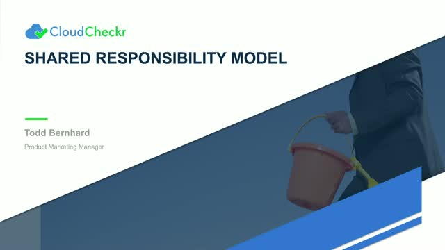 Your Organization's Role in the Shared Responsibility Model