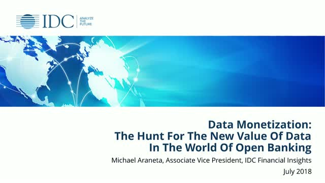 Data Monetization: The Hunt for New Value of Data in the World of Open Banking