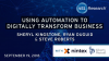 Using Automation to Digitally Transform Business