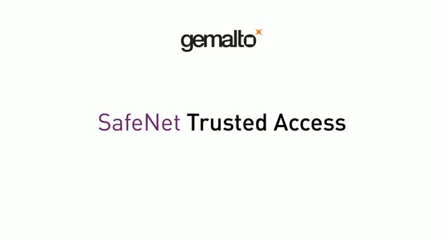 Gemalto SafeNet Trusted Access Demo