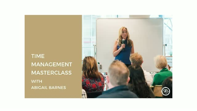 BrightTALK Masterclass Series: Time Management