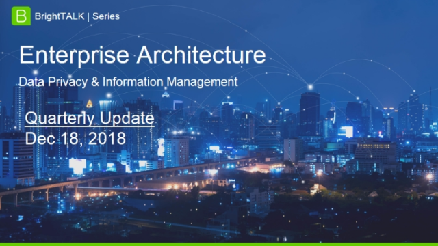 Q4 2018 Community Update: Data Privacy & Information Management in 2019