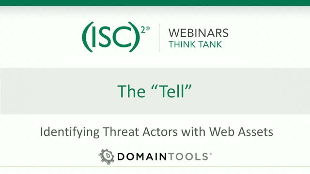 "The ""Tell"" – Identifying Threat Actors with Web Assets"