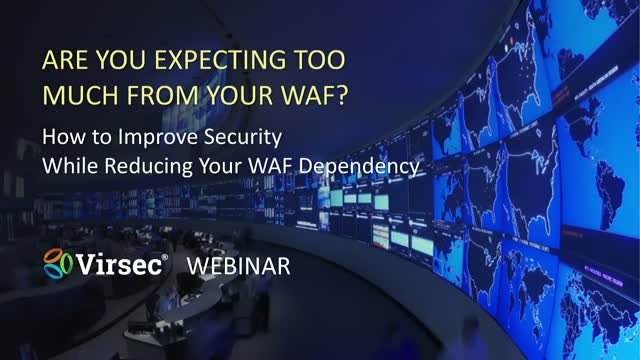 Are You Expecting Too Much from Your WAF?