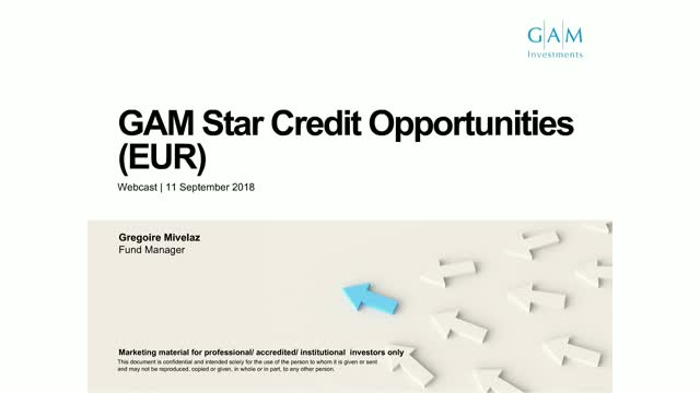 GAM Star Credit Opportunities update