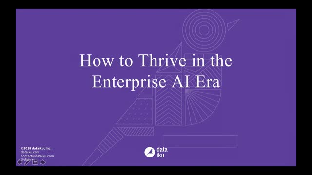 How to Thrive in the Enterprise AI Era | by Forrester & Dataiku