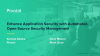 Enhance Application Security with Automated, Open-Source Security Management