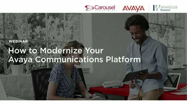 How to Modernize Your Avaya Communications Platform