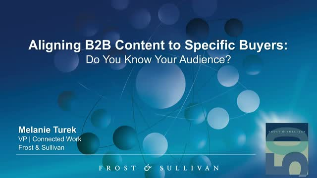 Aligning B2B Content to Specific Buyers: Do You Know Your Audience?