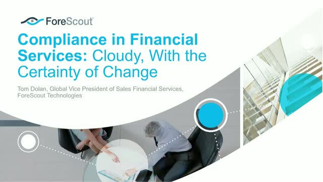 Compliance in Financial Services: Cloudy, With the Certainty of Change