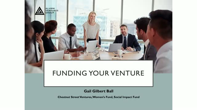 Her View on Finding Funding