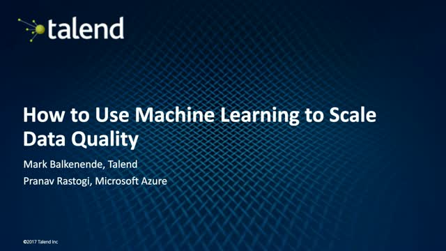 How to Use Machine Learning to Scale Data Quality