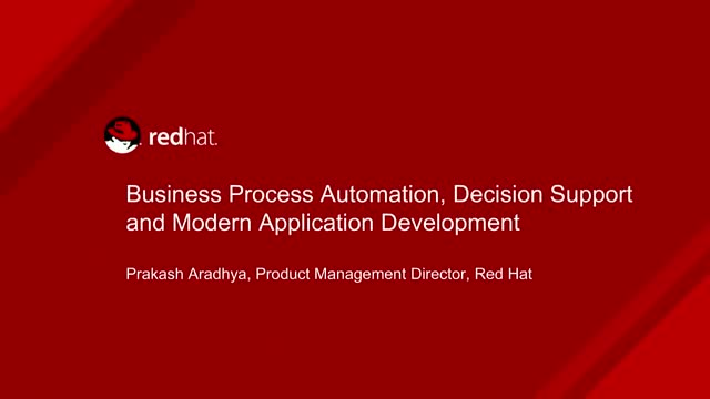 Business Process Automation, Decision Support and Modern Application Development