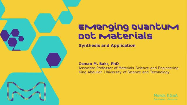 Emerging Quantum Dot Materials: Synthesis and Application