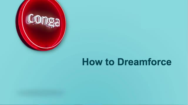 Dreamforce Panel: How to Dreamforce
