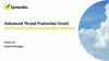 Advanced Threat Protection: Email Best Practice Recommendations Webinar