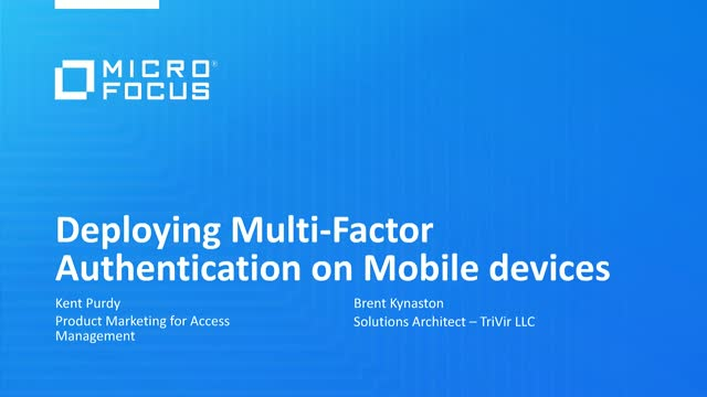 Deploying multi-factor authentication on mobile platforms