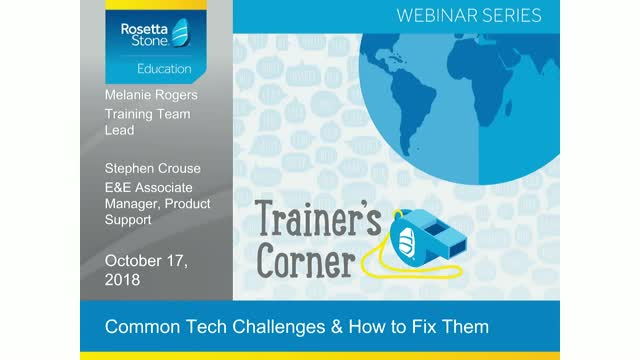 Trainer's Corner: Common Tech Challenges and How to Fix Them