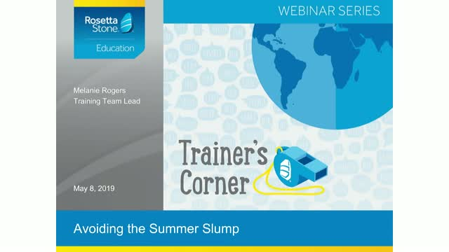 Trainer's Corner: Avoiding the Summer Slump