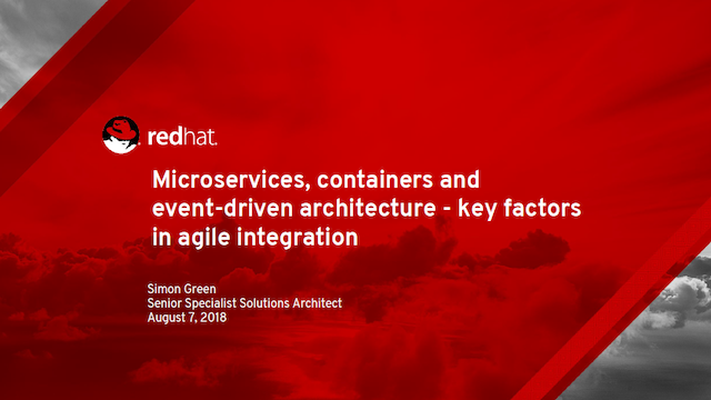 Microservices, Containers & Event-Driven Architecture: Key Integration  Factors