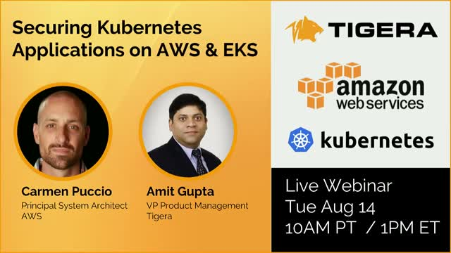 Network Security & Compliance for Kubernetes on AWS and EKS