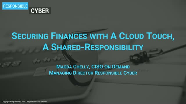 Securing Finances with A Cloud Touch – A Shared-Responsibility